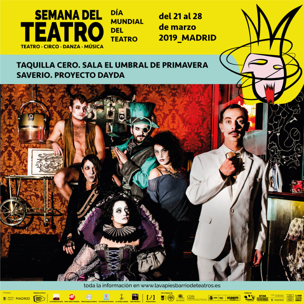 Semana del Teatro Madrid. Día Mundial del Teatro